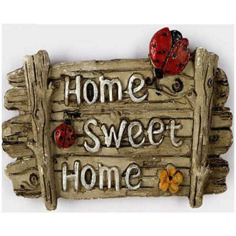 Diamond Painting Wood Home Sweet Home - OLOEE