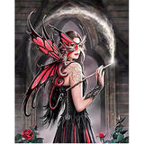 Diamond Painting Red Dragon Fairy - OLOEE