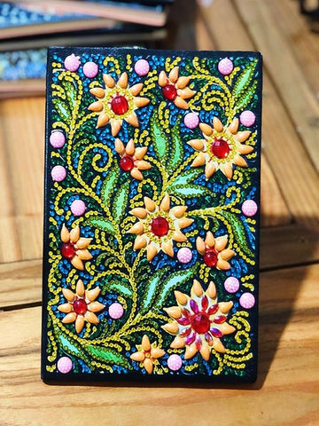 Diamond Painting Flower Vine Diamond Painting Notebook - OLOEE