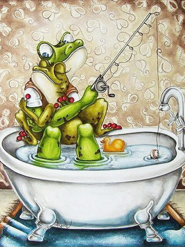 Bathtub Frogs