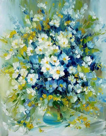 Diamond Painting Daisy Flower Painting - OLOEE