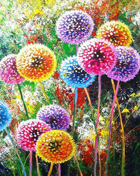 Diamond Painting Colorful Dandelion - OLOEE