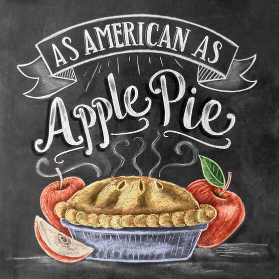 Diamond Painting As American As Apple Pie - OLOEE