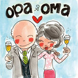 Diamond Painting Opa and Oma - OLOEE