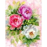 Diamond Painting Peony Flower - OLOEE