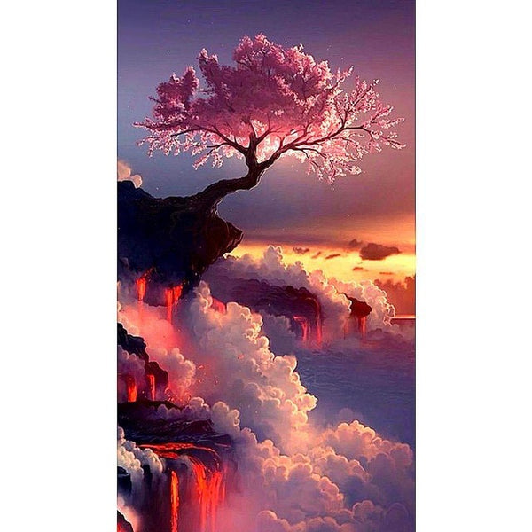 Diamond Painting Aesthetic Tree - OLOEE