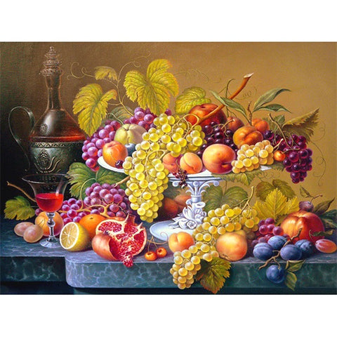 Diamond Painting Fruit Still Life - OLOEE