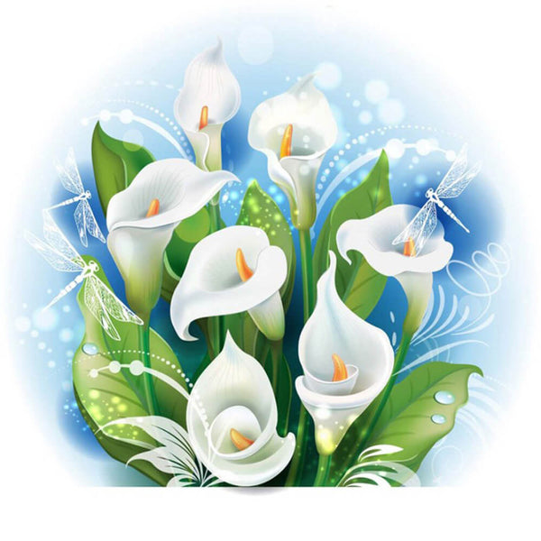 Diamond Painting Calla Lily Flower - OLOEE