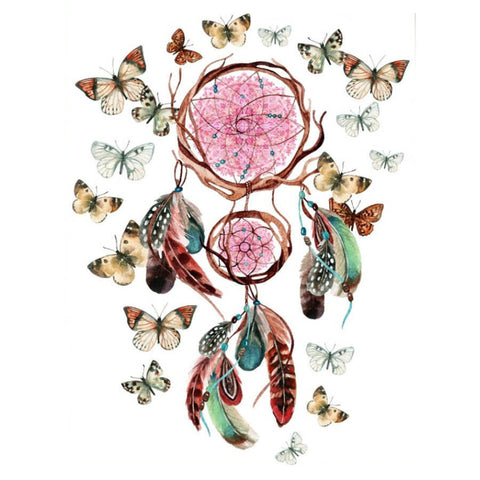 Diamond Painting Butterflies Dream Catcher - OLOEE