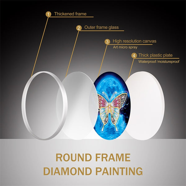 Diamond Painting Hanging Snowman With Frame - OLOEE