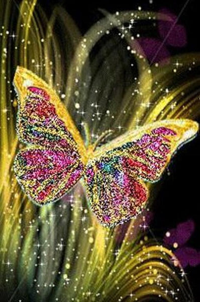 Diamond Painting Shinning Crystal Butterfly - OLOEE