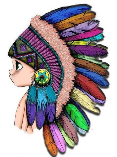 Native American Kid