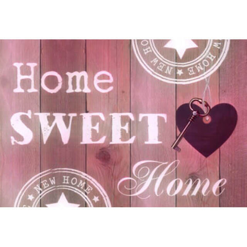 Diamond Painting Home Sweet Home Pink - OLOEE