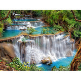 Diamond Painting Landscape Waterfall - OLOEE