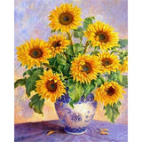 Diamond Painting Sunflower Vase Still Life - OLOEE