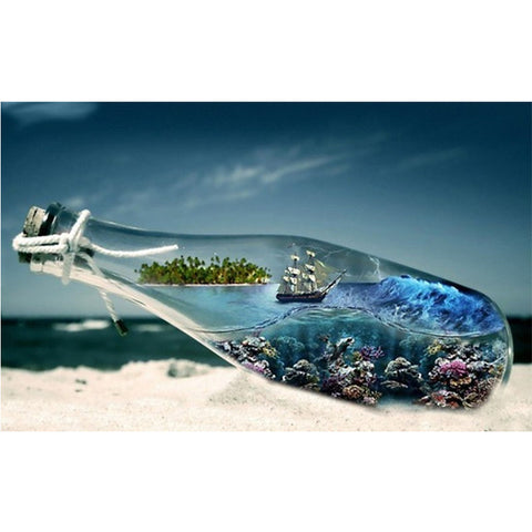 Diamond Painting Drift Bottle - OLOEE