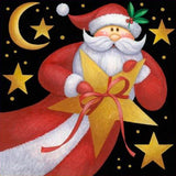 Diamond Painting Sky Santa Claus - OLOEE