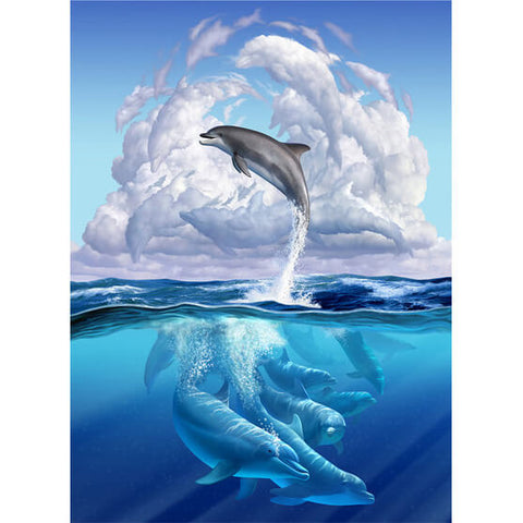 Diamond Painting Dolphin World - OLOEE