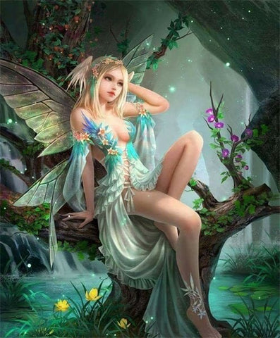 Diamond Painting Myth Fairy - OLOEE