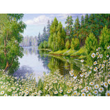Diamond Painting Daisy Lake - OLOEE