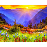 Diamond Painting Beautiful Mountains - OLOEE