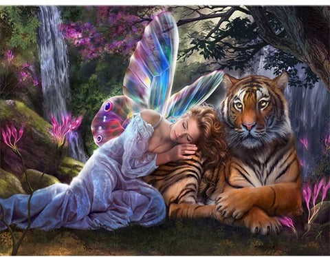 Tiger and Fairy - OLOEE