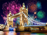 Diamond Painting London Bridge Night - OLOEE