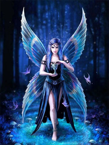 Diamond Painting Dark Fairy - OLOEE