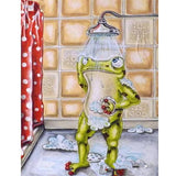 Diamond Painting Showering Frog - OLOEE