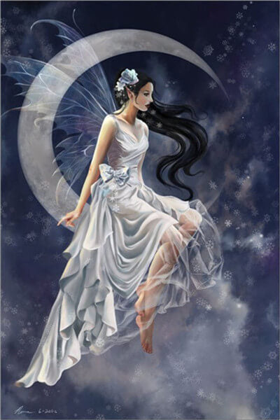 Diamond Painting Elegant Fairy - OLOEE