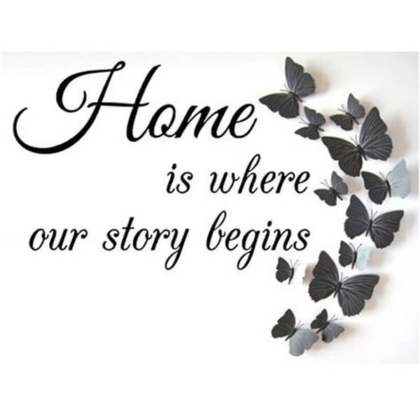 Diamond Painting Home is where our story begins - OLOEE
