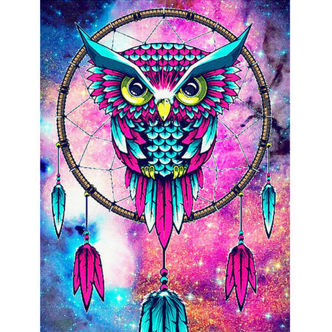 Diamond Painting Dreamcatcher Owl - OLOEE