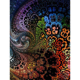 Diamond Painting Colorful Fractal - OLOEE