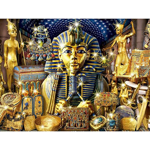 Diamond Painting Egyptian God - OLOEE