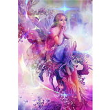 Diamond Painting Flower Fairy Art - OLOEE