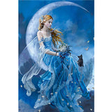 Diamond Painting Moon Fairy - OLOEE