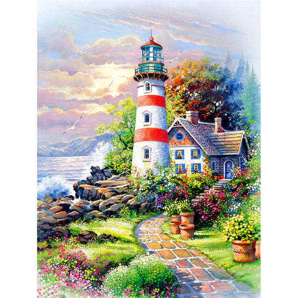 Diamond Painting Maine Lighthouse - OLOEE