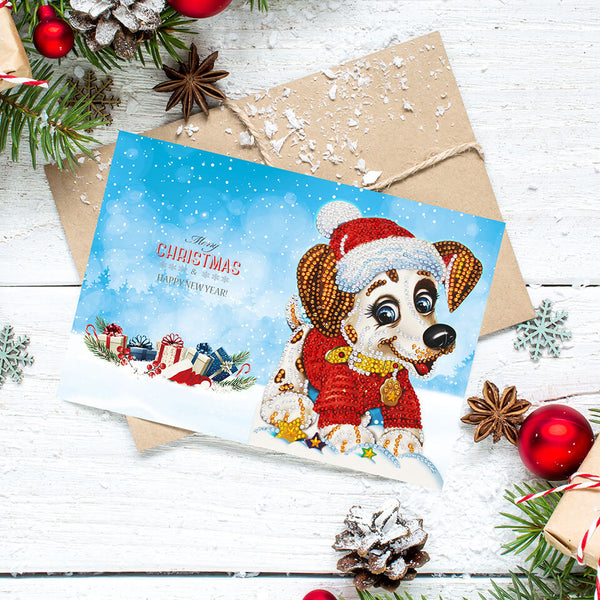 Diamond Painting Mega Value Christmas Cards 5 - 8x Pack - OLOEE