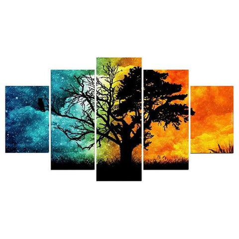 Diamond Painting Four Seasons Tree - OLOEE
