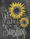Diamond Painting You Are My Sunshine - OLOEE
