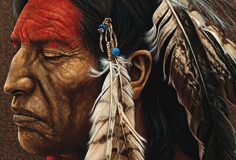 Diamond Painting Native Indian - OLOEE
