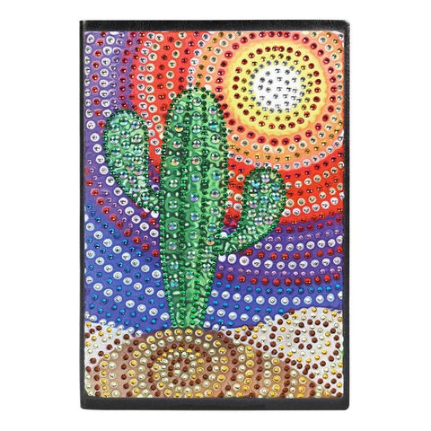 Diamond Painting Cactus Mandala Diamond Painting Notebook - OLOEE