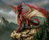 Diamond Painting Mythical Dragon - OLOEE