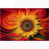 Diamond Painting Colorful Sunflower - OLOEE