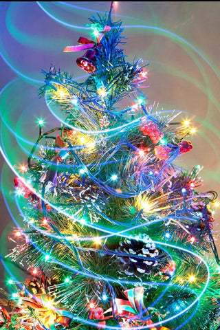 Diamond Painting Christmas Tree Lighting - OLOEE