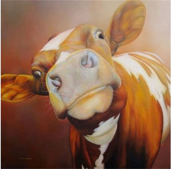 Diamond Painting Smart Cattle - OLOEE