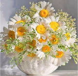 Diamond Painting Daisy Bouquet - OLOEE
