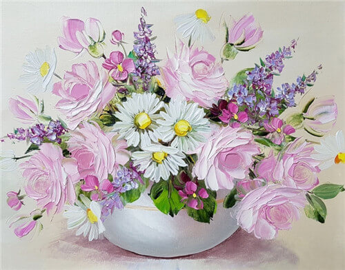 Diamond Painting Flowers Still Life - OLOEE