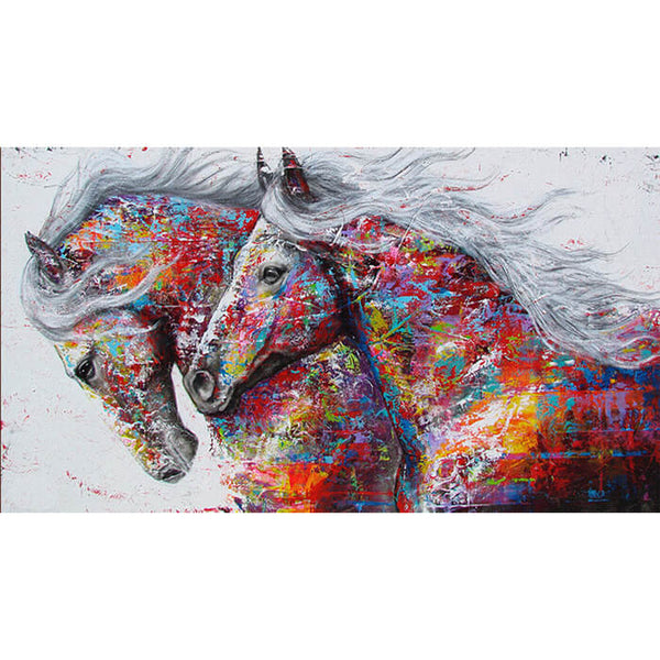 Diamond Painting Beautiful Horse Painting - OLOEE