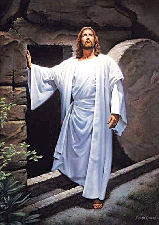 Jesus Stepping Out Of The Tomb 5d Diamond Painting Kits